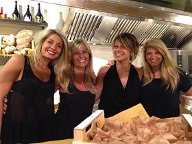 Flaminia, Paola, Chiara e Alice  di PIanostrada laboratorio di cucina