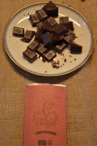 cacao crudo