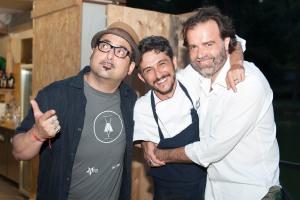 Roy Pace, Marco Gallotta e Simone Bonini-foto Flaminia Nobili