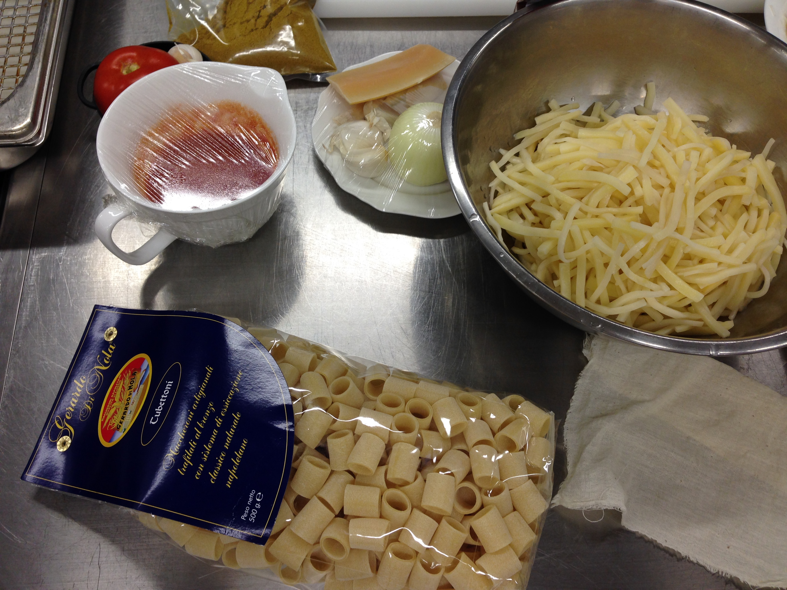 In cucina con francesco apreda per pasta e patate for Cucinare granchio