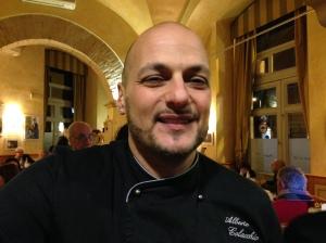 """chef Alberto Colacchio -Ristorante Al59 appuntamenti cine-gastronomici con Federico Fellini -Ceneteca """"Fellini Sapori Visioni"""""""