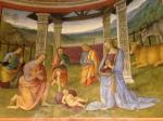 Montefalco-Perugia- Museo civico San francesco- affreschi del Perugino