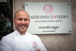 Pasticceria Bompiani Roma - Le Consistenze del Colore - Walter Musco - Pasqua 2015