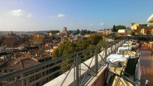 Roof Restaurant - HOTEL BERNINI BRISTOL