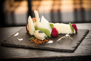 Tagliata frutta sorbetto mela verde_Tartufi _Tartufi&Friend _Londra