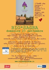 BIO*Sagra alla Fattoria a Fiorano-Fiorano for Kids 2015