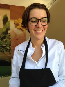 "La chef Alba Esteve Ruiz di ""Marzapane"" (RM)- Cooking for Art 2015"