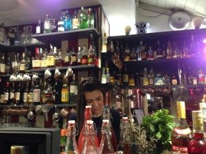 ristorante Voy- roma-ponte milvio-gelateria Le Bontique-il caldo e il freddo dell'autunno