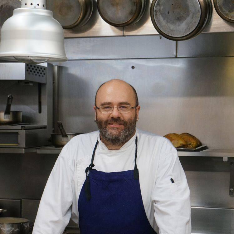 Chef al mercato di Testaccio- roma-cristina bowerman-romeo-chef gigi nastri