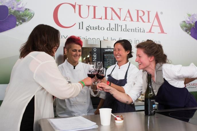 Culinaria 2016 Il Gusto dell'Identità-Uno spettacolo di cucina-Roma