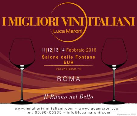 """""""I Migliori Vini Italiani 2016""""- roma- Luca Maroni"""