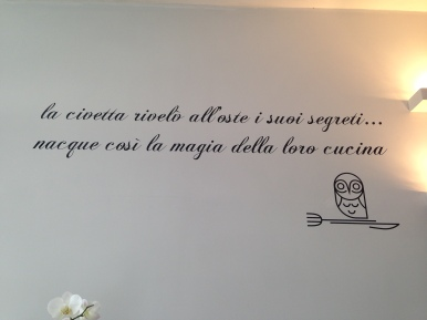 L'Oste e la Civetta-Roma-EUR-griglieria-crostaceria-primi della tradizione italiana