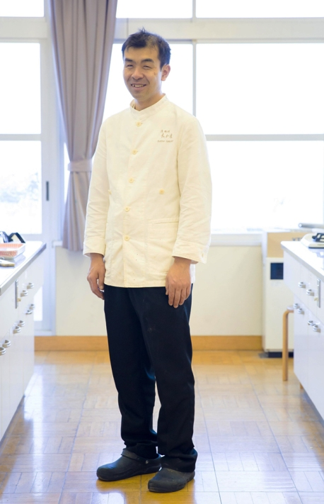 "Lo chef Kazuo Takaghi- Kyoto- ""Takaghi"""