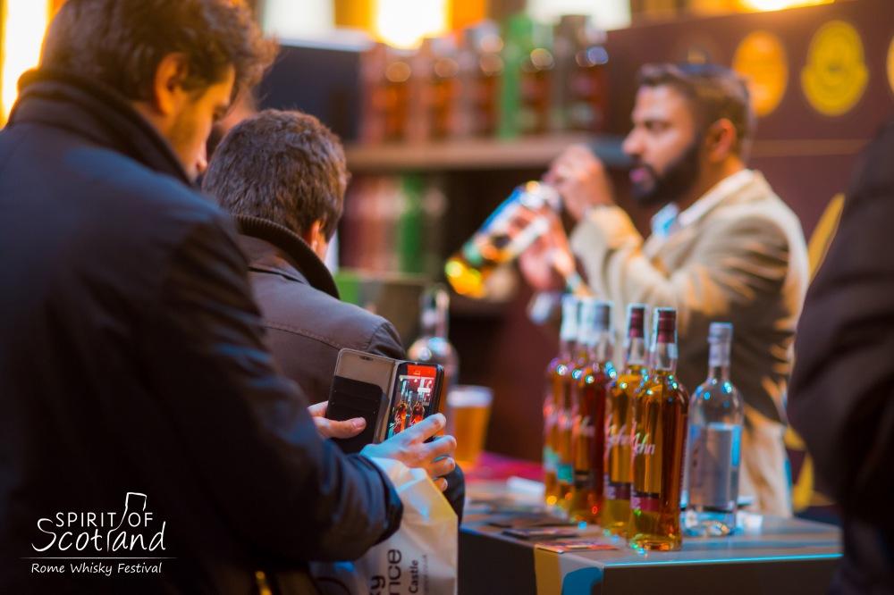 Spirit of Scotland - Rome Whisky Festival -Salone delle Fontane -Eur -4 e 5 marzo 2017