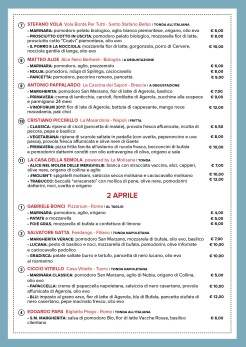 La Città della Pizza-Roma-Guido Reni District - via Guido Reni 7-pizzaioli italiani-Ferrarelle-da venerdì 31 marzo a domenica 2 aprile