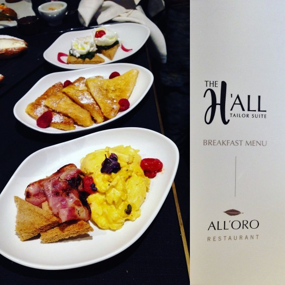 The H'All– Tailor Suite-ristorante All'Oro-albergo 5 stelle- Roma-chef Riccardo di Giacinto
