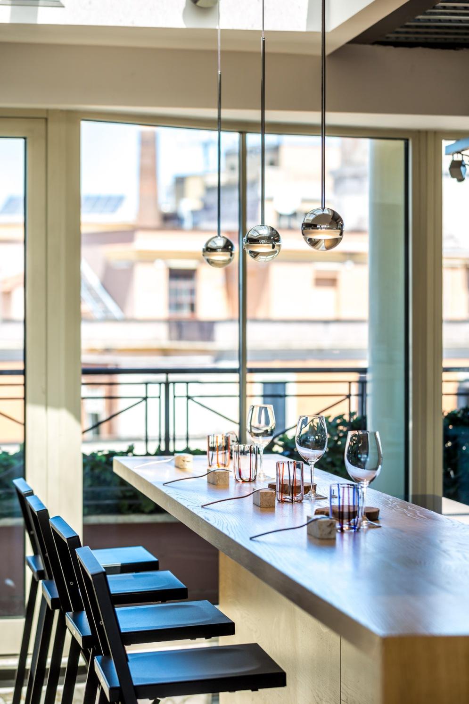 Giuda Ballerino!-Roma-Rooftop Restaurant-chef Andrea Fusco-terrazza con panorama su Roma