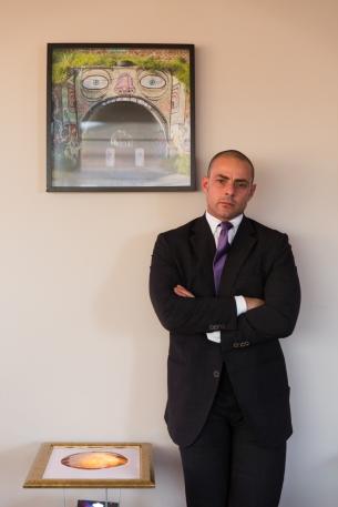 Alessandro Antonelli barmanager Sky Stars Bar dell'A Roma Lifestyle Hotel di Roma