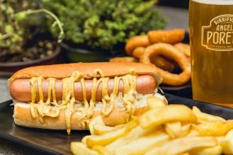 NEW YORK HOT DOG- Bun, crauti, senape