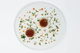 Magro all_elisir di pizza - uova di salmone