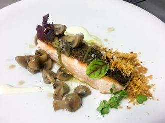 Stazione di Posta - chef Luca Pistininzi - Strogonoff di salmone rid