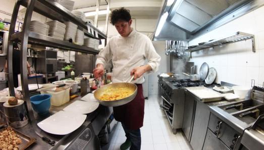 Chef Fabio Di Felice Foto David Schacherl0